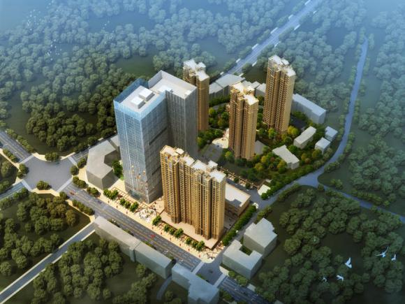 浏阳财富新城商业房产开发及棚户区改造项目