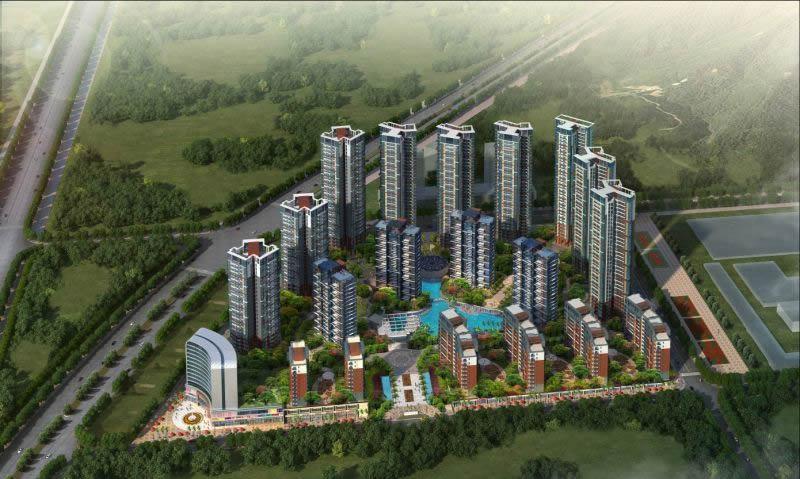 兴昂国际城综合楼装饰装伟易博国际娱乐网址