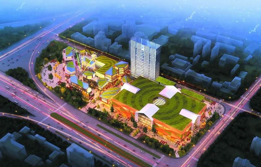 金悦洋商业公园综合楼外装饰(幕墙)伟易博国际娱乐网址